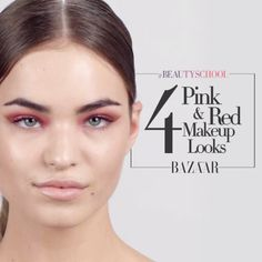 4 Red and Pink Eye Looks You Can't Live Without