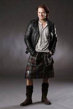 Jamie Fraser aka Sam Heughan - Outlander