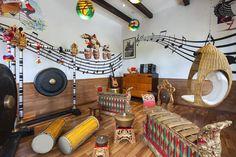 Children's Learning Center Music Room at St. Regis Bali