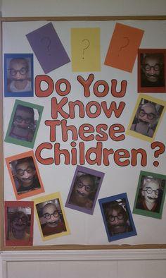 Cute Bulletin Board  Hopes & Dreams Preschool  www.hopesanddreamspreschool.com