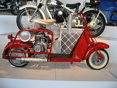 A Cushman scooter at Barber by hz536n/George Thomas, via Flickr