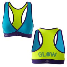 Shout Out V-Bra - Blue - Sale! - Zumbawear™ Zumba® Clothes and Accessories