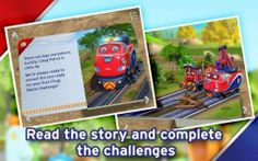 Chuggington Chug Patrol Book - Android version - the official app of the Chug Patrol: Ready to Rescue episode: an interactive Chuggington pop-up book featuring Wilson, Brewster, Koko, Jackman (Chief of Chug Patrol) and more. Original Appysmarts score: 86/100
