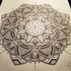 #art #sacredgeometry #floweroflife #mandala #geometric #psychedelic #art #geometry #drawing