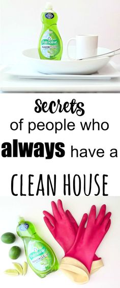 Easy practical cleaning tips that I could definitely put in place at my house!