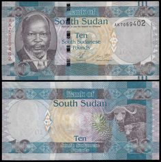 South Sudan 10 Pounds, 2011