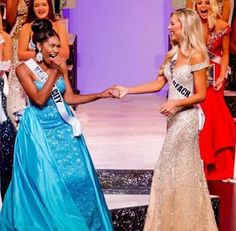 Meet Bayleigh Dayton, the newest Miss Missouri USA. She's the first Black Miss Missouri USA and took home the crown after being first runner up last year.