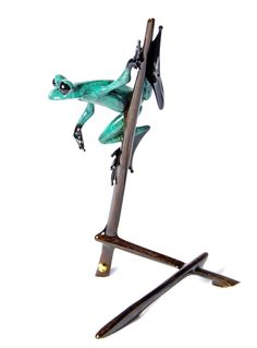 The_Art_of_Frogman_Tim Cotterill_Bronze_Frogs