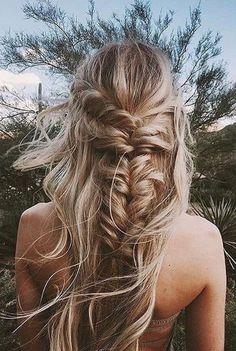 Such a lovely fishtail braid ❤️ #pinterestrepost