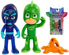 A Brand New Officially Licensed PJ Masks toy. The toy is new in the box but the box may show minor shelf wear. A great addition to any collection....