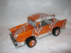Recycled Handmade Bud Light 57 Chevy by CANARTCRAFTS2204 on Etsy, $19.95