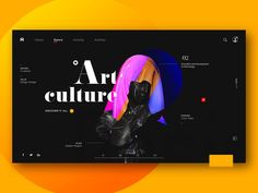 Weekly Design Inspiration – Muzli - Design Inspiration Art culture by Aimm for RaDesign Genre Activities, Color Style, Big Cartel, Poster Series, Branding, Ui Web, Conceptual Design, Web Design Inspiration, Blog Design