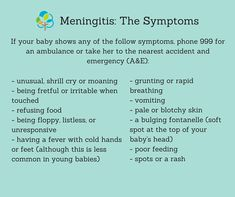 Charity urges parents to seek medical advice if they suspect meningitis | BabyCentre Blog