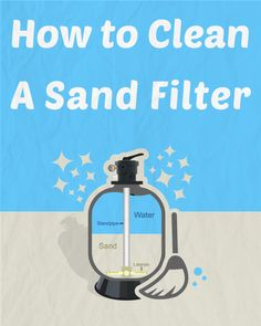 Do you own a sand filter with your swimming pool? If so, you should give it a good cleaning at least twice a year. Here are some tips and #DIY tricks on how to clean a #pool sand filter.