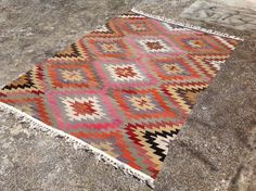7'6 X 5'10 Vintage Turkish rug rugs area rug rug by PocoVintage