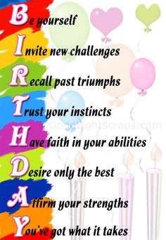 Top 10 Birthday wishes
