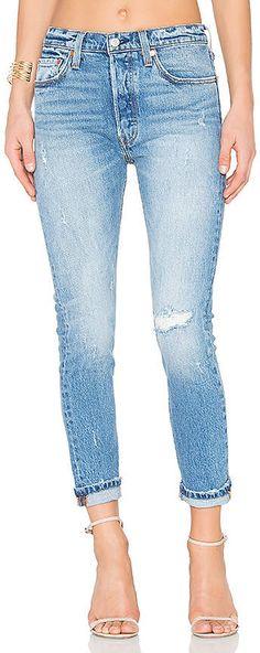501 Skinny. #areas#knee#Distressed