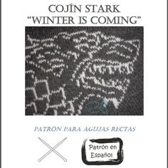 Im in heaven!   Instant Download Cushion Knitting Pattern Stark Game of by Dycas, €2.50