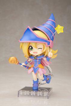 Too adorable, and I'm not even a Yu-Gi-Oh fan~ (Yu-Gi-Oh Black Magician Girl cu-poche figure)