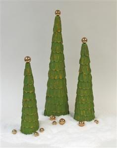 DIY Holiday Tree Trio