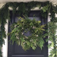 Cottage and Vine: Monday Inspiration Christmas Scents, Christmas Porch, White Christmas, Christmas Holidays, Christmas Wreaths, Merry Christmas, Christmas Decorations, Xmas, Holiday Decor