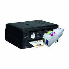 Impresora Multifucional Wifi Brother Sistema Tinta Continua - $ 2,899.00