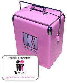 17L Pink Retro Cooler (FREE SHIPPING)