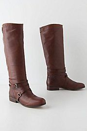 Banded Riding Boots. stop it anthro, just stop being perfect.