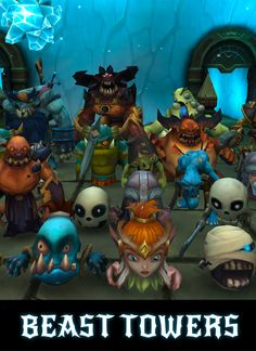 Download Beast Towers APK - http://apkgamescrak.com/beast-towers/