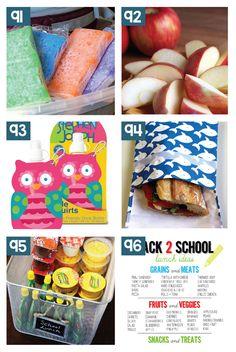 Awesome School Lunchbox Hack Ideas