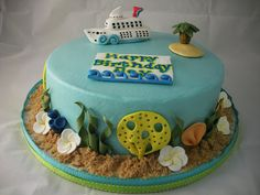 Sugar & Spice Sweets: Cruise Ship Cake