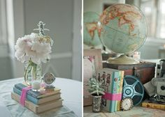 quirky centerpieces!  <3 <3