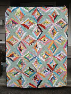 String Quilt Revival by Rachel @ 2nd Avenue Studio, via Flickr