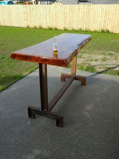 Macrocarpa bar leaner / Industrial / NZ made