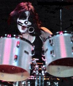 Peter Criss  Ok - this guy was my idol when I was a kid!  I started playing the drums because of him
