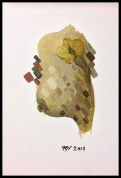 """DE LA SERIE : """" ENTRE LA PIEL Y LA ORQUÍDEA """"  #OIL #OILPAINTING #ART #MEXICO"""