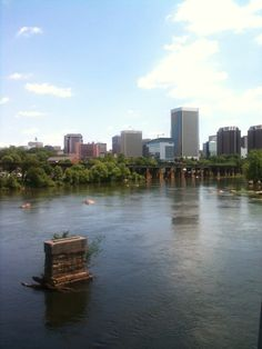 View of downtown RVA from Belle Isle