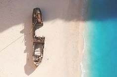Shipwreck located in Zakynthos island. I tried to take a different shot that… Shipwreck, Greece Travel, My Photos, Around The Worlds, Island, Photography, Image, Gems, Photograph