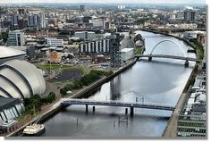 River Clyde from Glasgow Tower