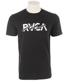 The RVCA Banner Of Opposites T-Shirt is a jersey standard fit tee with front print and screened inside neck.