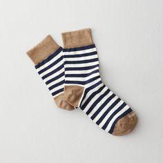 abbey stripe socks by ETIQUETTE CLOTHIERS #nattyguy #socks