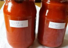 Ajvár télire | Rózsamama konyhája receptje - Cookpad receptek Ketchup, Hot Sauce Bottles, Dips, Cooking, Food, House, Red Peppers, Kitchen, Sauces