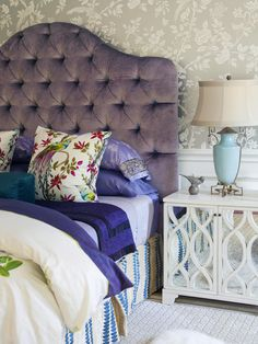 headboard! and color combo actually
