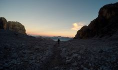 Brenta Dolomites at Sunset