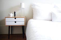 Vintage, rétro scandinave, industrielle, notre top 10 des tables de chevet à placer dans une chambre.