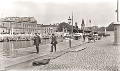 Turku Finland, History Of Photography, Old City, Capital City, Helsinki, Old Pictures, Cathedral, Louvre, Street View