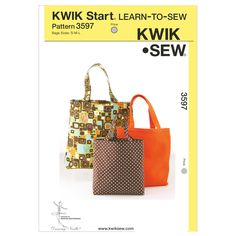 Mccall Pattern K3597 S-M-L -Kwik Sew Patternnull
