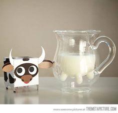 Cow Milk Pitcher via the meta picture
