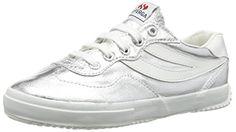 Superga 2832 COTMETW, Damen Sneakers, Silber (031), 35.5 EU ( 3 UK ) - http://on-line-kaufen.de/superga/36-eu-superga-2832-cotmetw-damen-sneaker-2