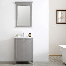 "Asti 24"" Vanity Set with Mirror"